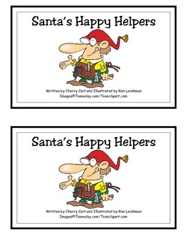 Santa's Happy Helpers Guided Reading Book
