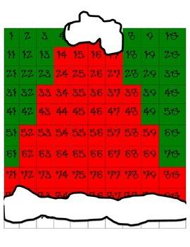 Santa's Hat Hidden Picture