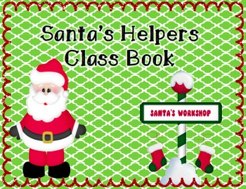 Santa's Helper Behavior Management Kit