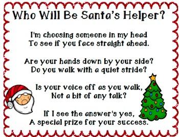 Santa's Helper Behavior Management Kit