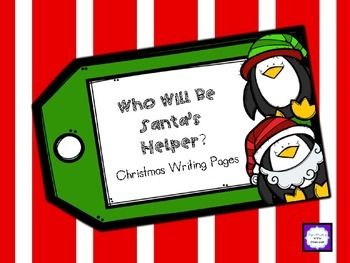 Santa's Helper Christmas Writing Pages