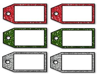 Santa's Helper Gift Wrap Store Dramatic Play Pack