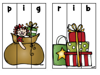Christmas Literacy and Math Center Fun {16 Centers}