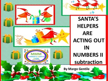 Math Drama: Santas Helpers Are Acting Out in Numbers II Su