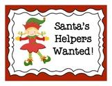 Santa's Helpers Wanted