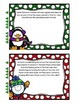Santa's Landform Adventure Weathering Erosion and Deposition Task Cards
