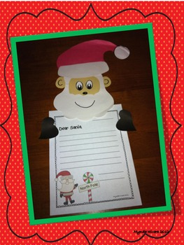 Santa's Letter Craftivity English & Spanish