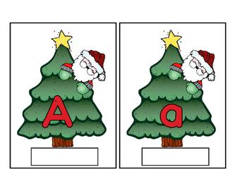 Santas Letter Mats and Word Mats