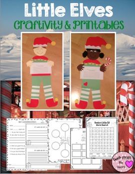 Elf Craftivity & Printables