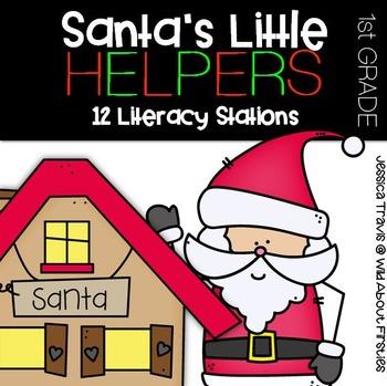 Santa's Little Helpers {12 Literacy Centers for December}