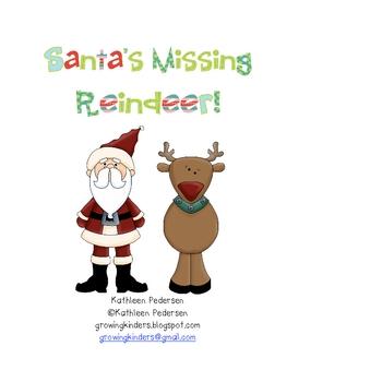 Santa's Missing Reindeer! An Opposites Game