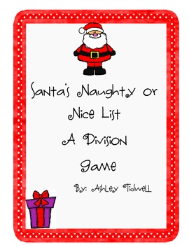 Santa's Naughty or Nice List: A Division Game