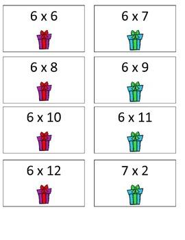 Santa's Naughty or Nice List: A Multiplication Game