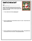 Santa's New Suit: Multiplication and Division Problems (FREE)