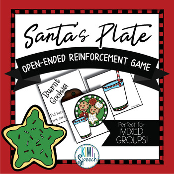 Santa's Plate: Open Ended Reinforcement Game for Mixed Speech Therapy Groups
