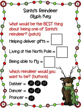 Santa's Reindeer Glyph