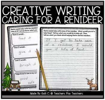 December Narrative Writing- Helping Santa Take Care of His
