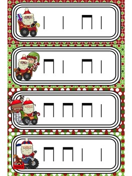 Santa's Rhythm Racers: Bundle #1