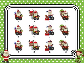 Santa's Rhythm Racers: PowerPoint Game Bundle