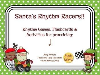 Santa's Rhythm Racers: half note