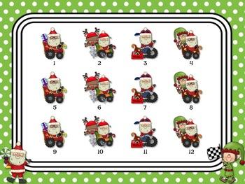 Santa's Rhythm Racers: tika-ti