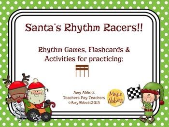 Santa's Rhythm Racers: tika-tika