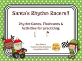 Santa's Rhythm Racers: tom-ti