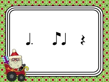 Santa's Rhythm Racers: tom-ti