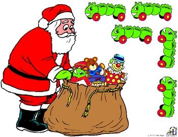 Santa's Sack Sequencing Activity