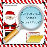 Santa's Secret Code - Christmas Literacy Center