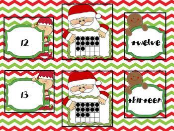 Santa's Secret Number Stash (0-20)