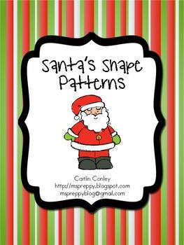 Santa's Shape Patterns