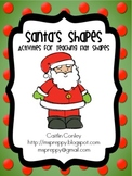 Santa's Shapes Activity Pack