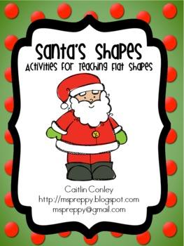 Santa's Shapes Activity Pack