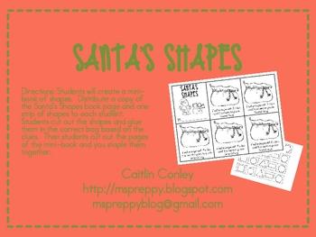 Santa's Shapes: Flat Shapes
