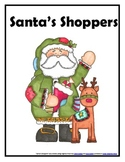 Santa's Shoppers- Money, Check Writing, Number Words