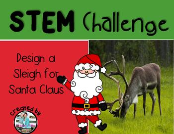 Santa's Sleigh Christmas STEM Engineering Challenge