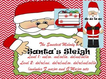 Santa's Sleigh Melodic Games