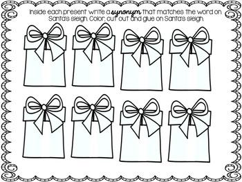 Santa's Sleigh of Synonyms