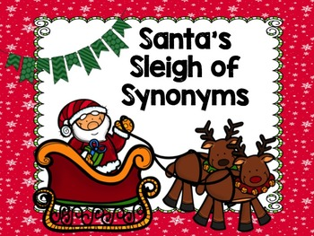 Santa's Sleigh of Synonyms