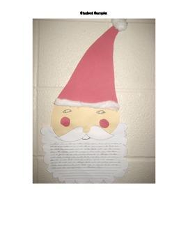 Santa's Snacks Christmas Common Core Opinion Writing