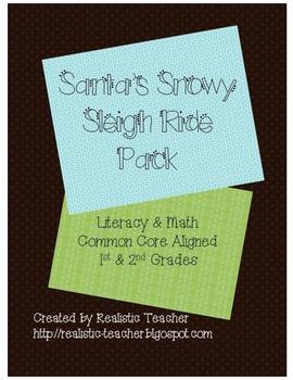 Santa's Snowy Sleigh Ride Math & Literacy Pack