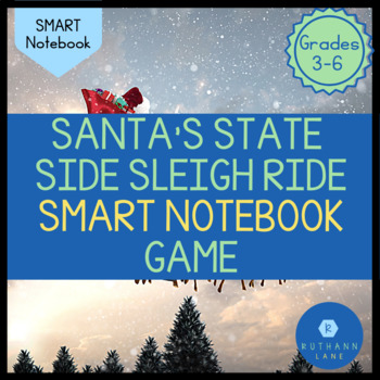 Santa's Stateside Sleigh Ride: Using the Regions of The US