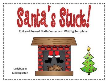 Santa's Stuck Math Center-Freebie
