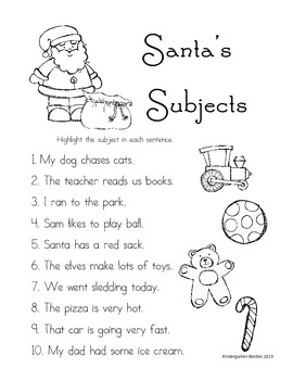 Santa's Subjects
