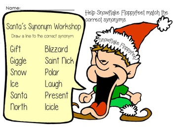 Santa's Synonym Workshop