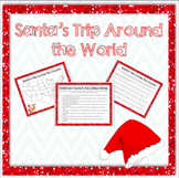 Santa's Trip Around the Country - Fun Holiday Map Activities!