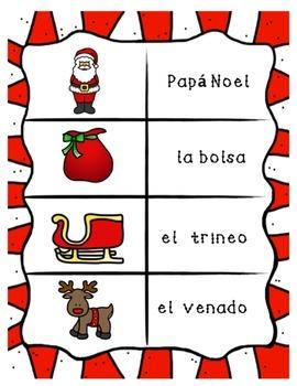 Santa's Visit in Spanish for Novice Spanish Speakers