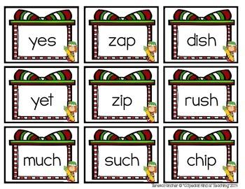 "Santa's ""Word"" Shop {A Decoding Skills Game- CVC, CCVC &CVCC Words}"