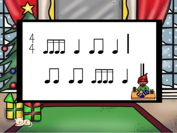 Santa's Workshop - A Bundle of 4 Games to Practice Rhythm